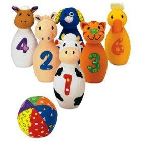 Earlyears Baby Farm Friends Bowling